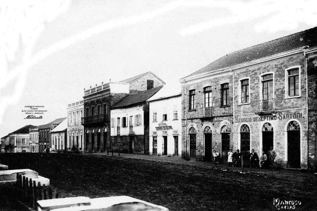 Transviados caxienses do século 19, por João Spadari Adami Domingos Mancuso,acervo pessoal de Renan Carlos Mancuso/Divulgação