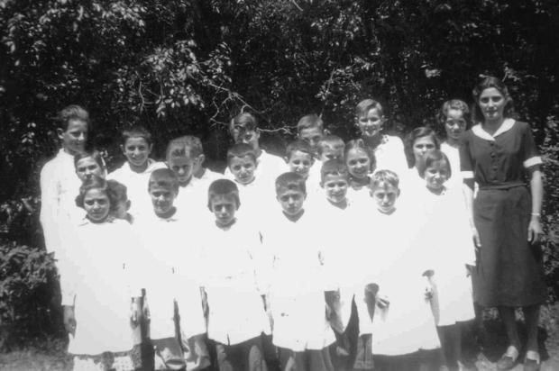 Os 90 anos de dona Neli Communello Cavalli Acervo de família/Divulgação