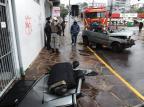 Acidente com quatro carros deixa motorista ferida em Caxias Antonio Valiente / Agência RBS/Agência RBS