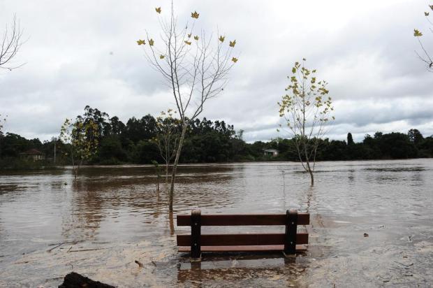 Após rio atingir marca histórica, São Sebastião do Caí decreta situação de emergência Antonio Valiente/Agência RBS