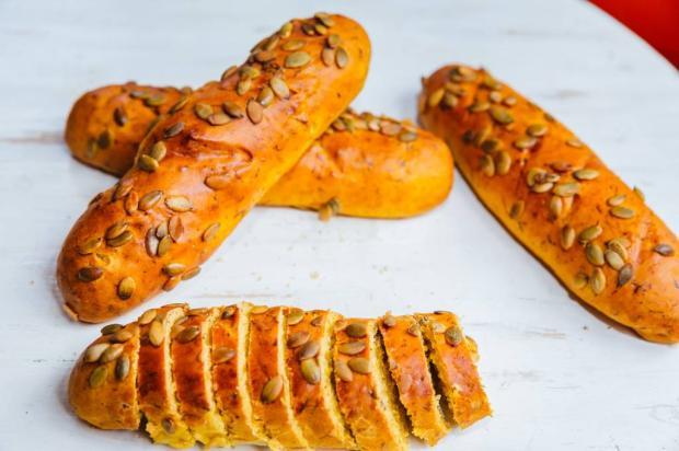 Pão diferente? Aposte nessa versão de moranga com carne seca Omar Freitas / Agência RBS/Agência RBS