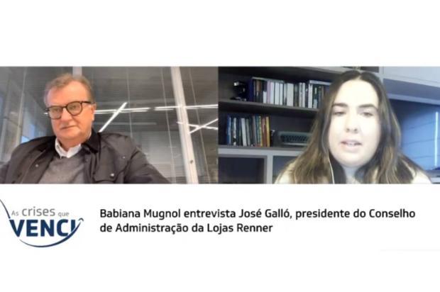 As crises que venci: acompanhe entrevista com José Galló YouTube Pioneiro / Reprodução/Reprodução
