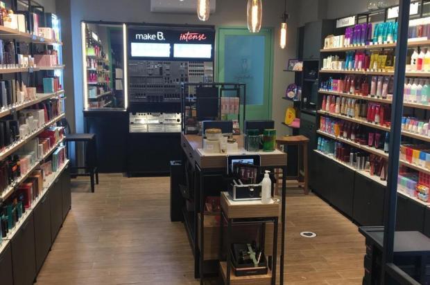 Primeira loja de rede de cosméticos em novo modelo Adriana Klaumann/Divulgação