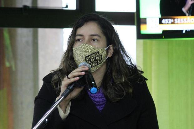 """Vereadora critica relação da Câmara com prefeitura de Caxias: """"passa boi, passa boiada"""" Gabriela Bento Alves/Divulgação"""
