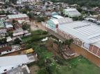Aumento de nível do rio em São Sebastião do Caí desacelera, mas continua sendo registrado Prefeitura Municipal de São Sebastião do caí / Facebook, Divulgação/Facebook, Divulgação