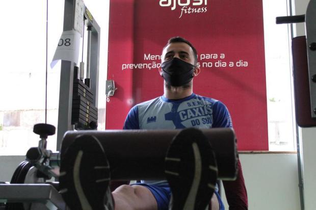 Volante do Caxias considera fundamental retorno dos treinamentos coletivos Vitor Soccol/SER Caxias,divulgação