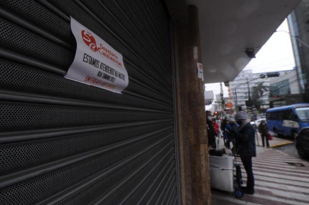 Pandemia fecha as portas de tradicionais estabelecimentos de Caxias do Sul Marcelo Casagrande/Agencia RBS