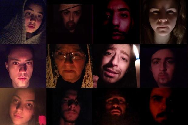 Escola Tem Gente Teatrando, de Caxias, estreia nesta segunda-feira sua primeira mostra virtual Reprodução/Divulgação