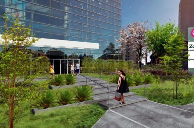 Nova fachada do San Pellegrino será inaugurada até o fim do mês San Pellegrino Projeto/Divulgação Bourbon