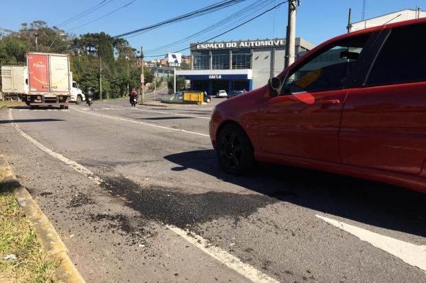 Cerca de 800 pontos em ruas de Caxias necessitaram de reparos após sequência de dias de chuva André Fiedler/Agência RBS