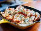 Na Cozinha: aprenda a fazer peito de frango recheado com ricota e espinafre Omar Freitas  / Agência RBS/Agência RBS