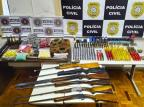 Operação conjunta apreende seis espingardas e centenas de munições em Veranópolis Brigada Militar / Divulgação/Divulgação