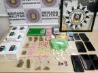 Polícia prende irmãos que faziam telentrega de drogas em Bento Gonçalves Polícia Civil / Divulgação/Divulgação