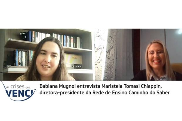 As crises que venci: confira a entrevista com Maristela Tomasi Chiappin YouTube Pioneiro / Reprodução/Reprodução