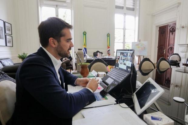 Governador Eduardo Leite está com covid-19 Felipe Dalla Valle/Divulgação
