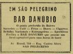 Anúncios do Bar Danúbio na década de 1950 Diário do Nordeste,reprodução/Reprodução