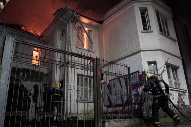 Casa da família Rigotto, em Caxias do Sul, tem perda total após incêndio Carlo de Bortoli/Divulgação