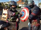 Obter distanciamento social é trabalho para super-heróis Fabiane Capellaro,Prefeitura de Bento/Divulgação