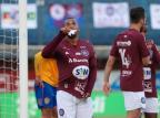 Atacante do Caxias comemora gol e nascimento do filho na mesma semana Luiz Erbes/SER Caxias Divulgação