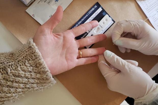 Pesquisa aplica testes de coronavírus em moradores de Caxias neste fim de semana Lizie Antonello/Agência RBS