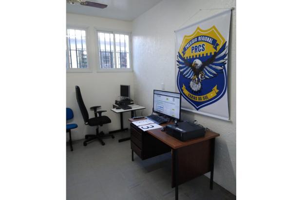Preso oferece R$ 10 mil a agente penitenciário para ter celular em cadeia de Caxias do Sul Susepe / Divulgação/Divulgação