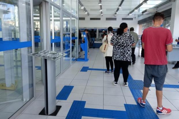 Caixa abre agência em Caxias para pagamento do auxílio emergencial neste sábado Aline Ecker/Agência RBS