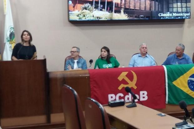 A união previsível de PT e PCdoB na disputa à prefeitura de Caxias do Sul Facebook PCdoB Caxias do Sul/Reprodução