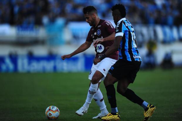 Caxias lamenta decisão sobre datas das finais do Gauchão contra o Grêmio Porthus Junior/Agencia RBS