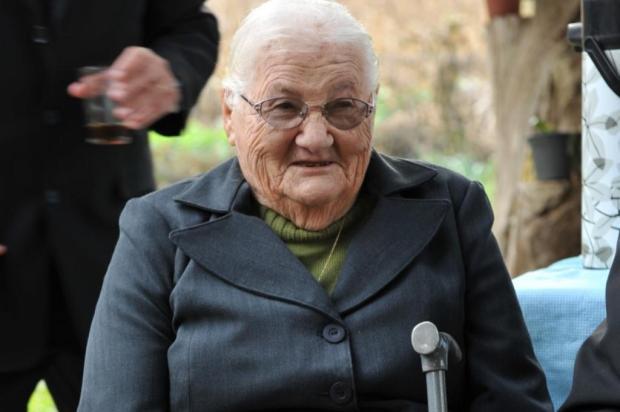 Jema Scottá, a Nonna, comemora centenário em Barão Arquivo Pessoal/Divulgação
