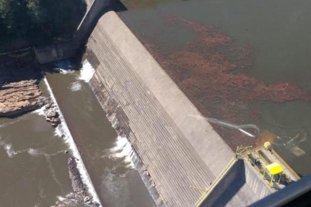 Segunda etapa de detonações em barragem com infiltração na Serra está programada para segunda-feira Defesa Civil/Divulgação