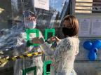 Lar de idosos de Caxias faz ação especial para promover encontro entre moradores e familiares no Dia dos Pais Fernanda Mayer Bento/Divulgação