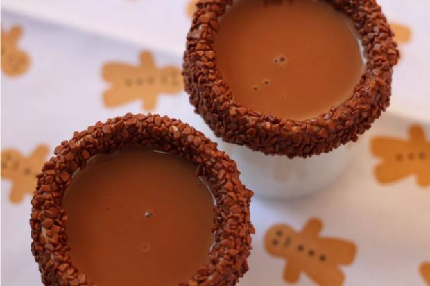 Esse chocolate quente com brigadeiro é imbatível! Tatiana Tavares / Agência RBS/Agência RBS