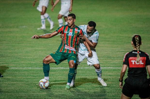 Ouça o gol da vitória do Juventude contra o Sampaio Corrêa Lucas Almeida / Sampaio Corrêa, Divulgação/Sampaio Corrêa, Divulgação