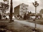 Rua Marquês do Herval e o lendário Hotel Menegotto Domingos Mancuso,acervo pessoal de Renan Carlos Mancuso/Divulgação