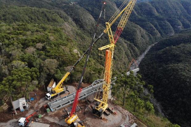 Empresa busca candidatos para trabalhar na ponte de vidro de Canela. Saiba como participar Eduardo Idalino/Divulgação