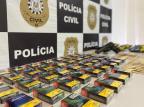 Polícia Civil localiza carga de cigarros escondida em Caxias do Sul Polícia Civil/Divulgação