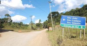 Estrada Velha, entre Caxias e Flores da Cunha, terá bloqueio total a partir desta quarta-feira (Fábio Carnesella/Divulgação)