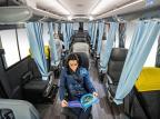 Tecnologias desenvolvidas pela Marcopolo buscam tornar transporte de passageiros seguro durante a pandemia Julio Soares/Divulgação