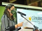Vereadora de Caxias questiona reajuste de salários na Festa da Uva Gabriel Lain/Divulgação