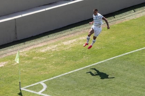 Ouça os gols do Juventude na vitória contra o Oeste Diego Motta/Futura Press