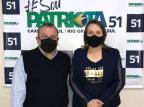 Patriota de Caxias do Sul apresenta pré-candidata a vice-prefeita Tatiana de Oliveira/Divulgação