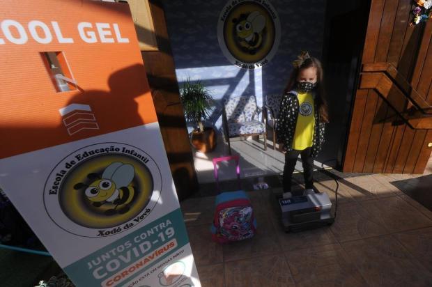 Com medidas de prevenção e focadas em lidar com as emoções, escolinhas reabrem em Caxias Marcelo Casagrande/Agencia RBS