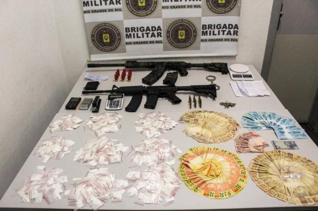 Perseguição termina com suspeito preso com fuzil em Caxias do Sul Brigada Militar / Divulgação/Divulgação