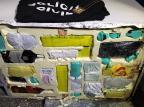 Polícia Civil encontra drogas em fundo falso de freezer no presídio de Canela Polícia Civil/Divulgação