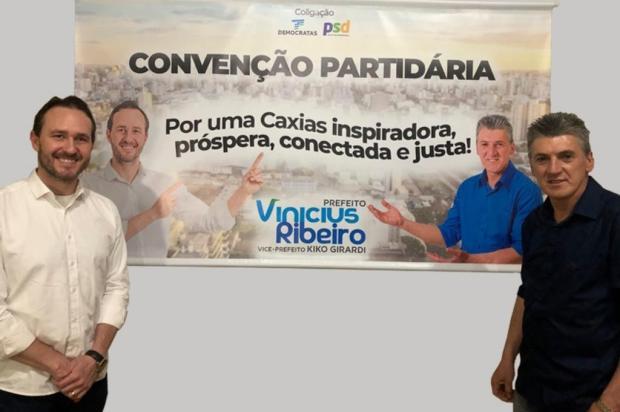Vinicius e Kiko são confirmados para a disputa à prefeitura de Caxias Brayan Boff/Divulgação
