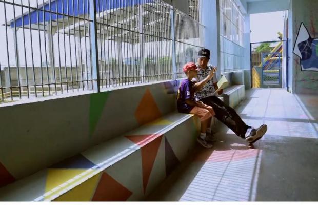 Projeto Hip Hop nas Escolas é retratado em documentário sobre economia criativa; assista Reprodução/Reprodução