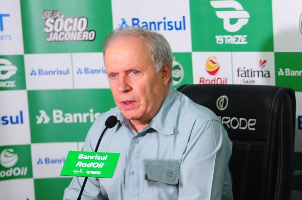 """""""O jogo foi bom, mas o resultado poderia ser melhor"""", diz vice de futebol do Juventude Porthus Junior/Agencia RBS"""