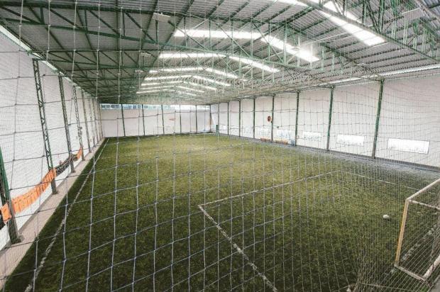 Quadras esportivas poderão reabrir para jogos coletivos amadores em Caxias do Sul Guilherme Rech/Divulgação