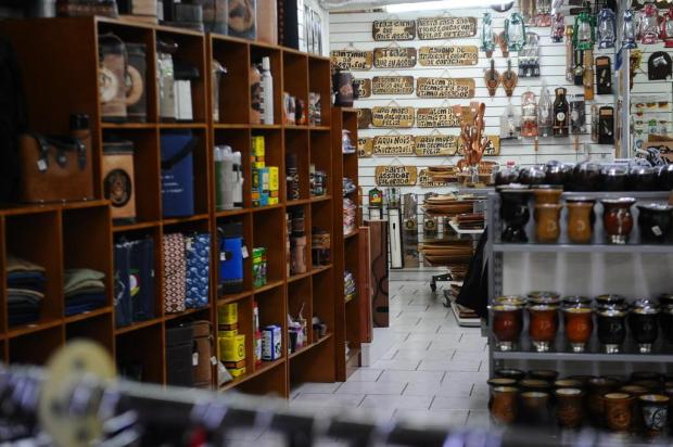Lojas tradicionalistas calculam perdas irreparáveis para o mês de setembro Antonio Valiente/Agencia RBS