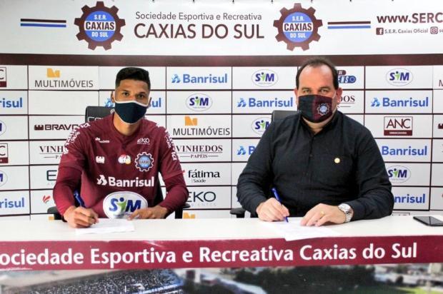 Caxias oficializa contratação de centroavante para a Série D Vitor Soccol/Dinâmica Conteúdo